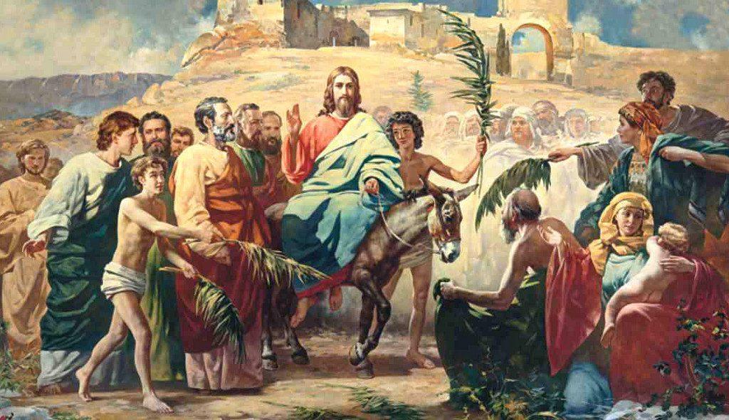 Hiệp sống tin mừng: Chúa nhật Lễ Lá