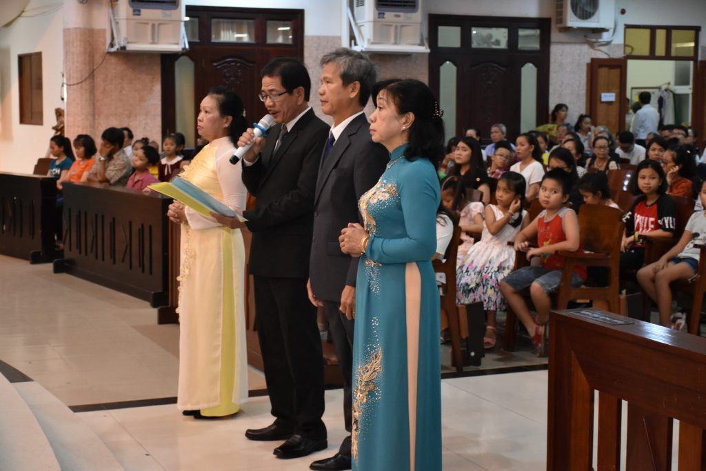 Lễ Đức Mẹ Lên Trời 15/08/2019 – Bổn Mạng Họ Giáo Mông Triệu