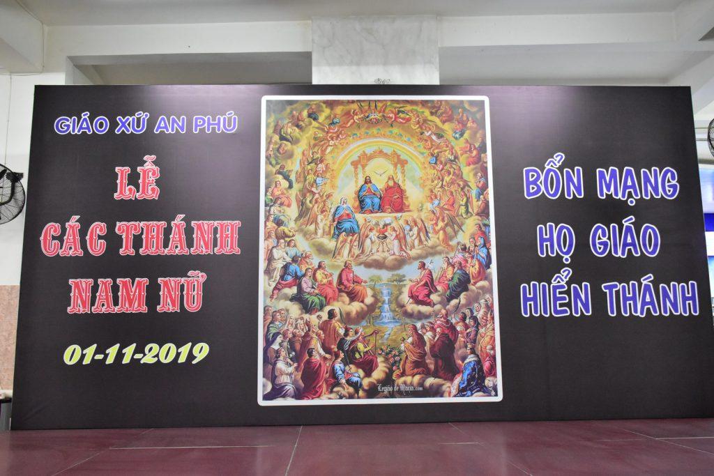 Lễ Các Thánh Nam Nữ – Bổn Mạng Họ Giáo Hiển Thánh 2019