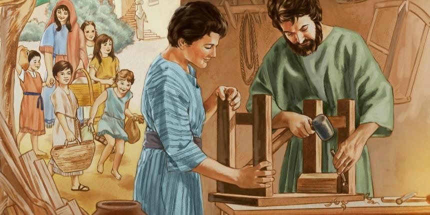 Thánh Giuse – Mẫu gương gia trưởng