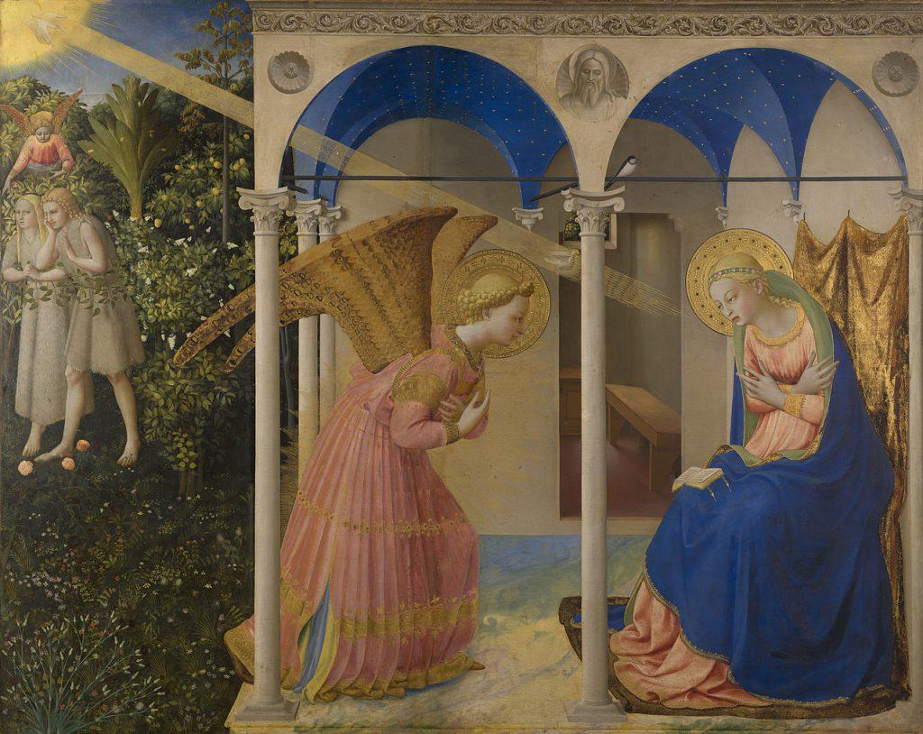 Thiên Thần truyền tin cho Đức Bà chịu thai – Lễ Truyền Tin