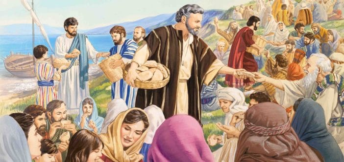 Đức Giê-su cầm lấy bánh, dâng lời tạ ơn, rồi phân phát – Thứ Sáu Tuần II Phục Sinh