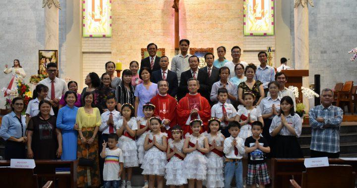 Lễ Chúa Thánh Thần Hiện Xuống – Bổn mạng Họ Giáo Thánh Linh – CĐ Magnificat – Đội thăm viếng Legio Mariae