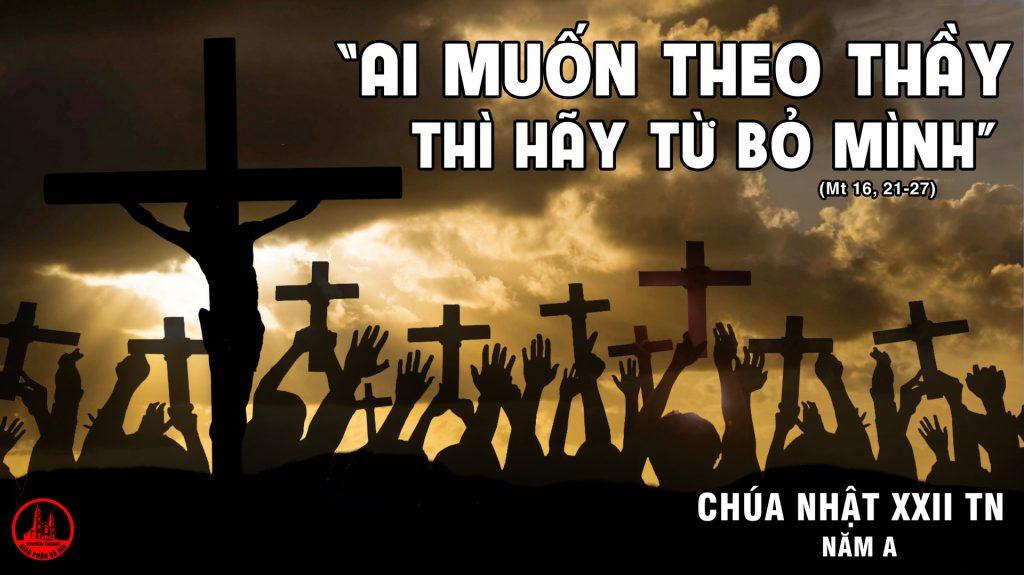 Theo Chúa – CN XXII TN A