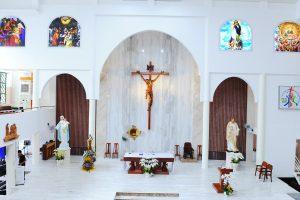 Thánh lễ tạ ơn hoàn thành công việc chỉnh trang nhà thờ 01-10-2020