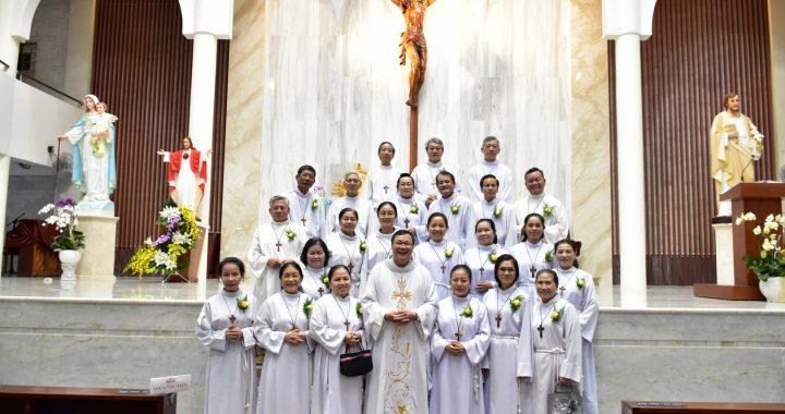 Lễ Chúa Kitô Vua – Bổn mạng Ban Thừa Tác Viên 22/11/2020