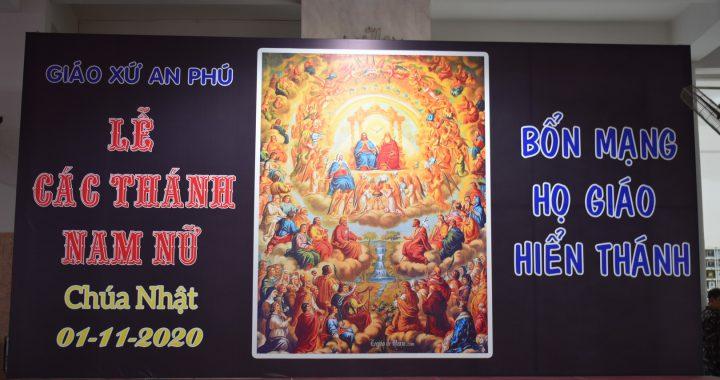 Lễ Các Thánh – Bổn mạng Họ Giáo Hiển Thánh 01/11/2020